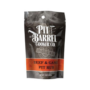 Pit Barrel Cooker 8981177 5 oz Beef & Game BBQ Rub Assorted