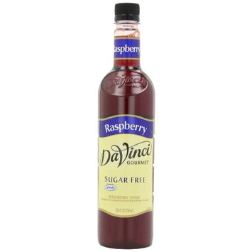 DaVinci Gourmet Sugar Free Syrup Raspberry 25.4 Oz. (Pack of 3) Zero Calorie Sweetener Syrup for Espresso Drinks, Tea, and Other Beverages, Suited for Home, Café, Restaurant, Coffee Shop