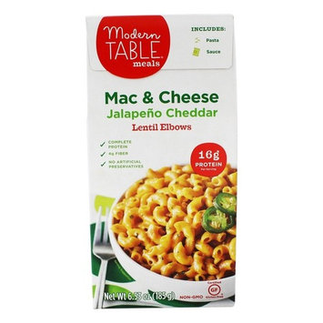 Modern Table Mac & Cheese Lentil Jalapeno Cheddar, 6.52 oz [Jalapeno Cheddar]