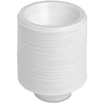 Genuine Joe GJO10424 Plastic Reusable/Disposable Bowl, 12-Ounce Capacity (Pack of 125)