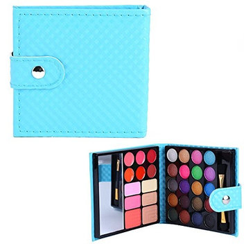 PhantomSky 32 Colors Eyeshadow Palette Makeup Contouring Kit Combination with Lipgloss, Blusher and Concealer #2 - Perfect for Professional and Daily Use