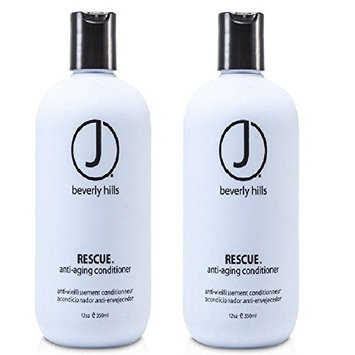 J Beverly Hills Rescue Anti-Aging Conditioner 350ml/12oz Set of 2