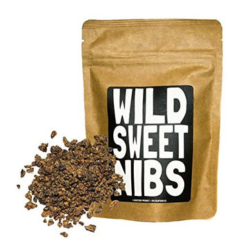 Wild Sweet Nibs, Raw Cacao Nibs Lightly Sweetened From Organically Grown Cocoa, Single-Origin, Gluten-Free, non-GMO Chocolate Superfood