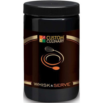 Custom Culinary Whisk and Serve Hollandaise Sauce Mix, 38 Ounce - 4 per case.
