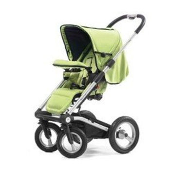 Mutsy 4Rider Stroller, Team Lime (Discontinued by Manufacturer)