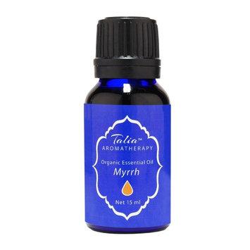 Organic Myrrh Oil Essential Oil, Pesticide & Herbicide Free Talia Organics 15 ml Oil
