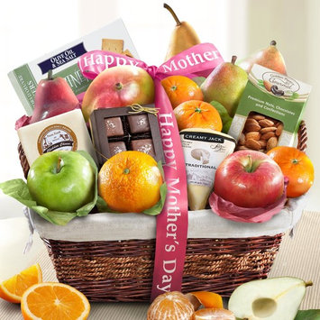 Golden State Fruit Happy Mother's Day Deluxe Fruit Basket [Mother's Day]