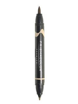 Prismacolor Premier Double-Ended Brush Tip Markers light umber 50%, 274 [pack of 6]