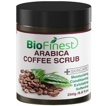 Biofinest Arabica Coffee Scrub: Best For Varicose Veins, Cellulite, Stretch Marks, Eczema & Acne.