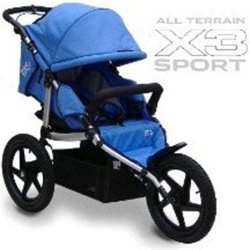 All Terrain X3 Sport Stroller Color: Blue []
