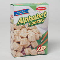 Dollaritemdirect COOKIES BOXED ALPHABET 11 OZ. MRS. PURES, Case Pack of 12