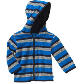 Garanimals Newborn Baby Boy Printed Microfleece Hood