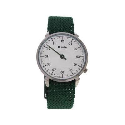 Kulte Kutpgrn Fresh Mint - Silver/Green Nylon Strap Watch Watch For Unisex 1 Pc