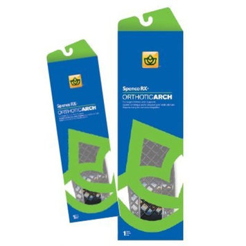 SPENCO RX Orthotic Arch Supports SPENCO Orthotic Arch Supports, Size: 2, Full Length, Women's; Shoe Size: 7-8, Men's:; 6-7