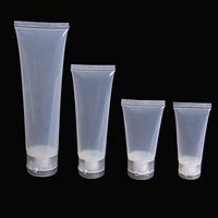 super1798 5Pcs Tube Squeeze Cosmetic Cream Lotion Plastic Travel Bottle Empty Container size 50ml