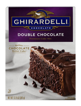 Ghirardelli Premium Cake Mix Double Chocolate