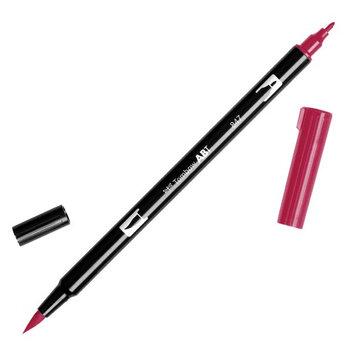 Tombow Dual Brush Marker Open Stock-847 Crimson