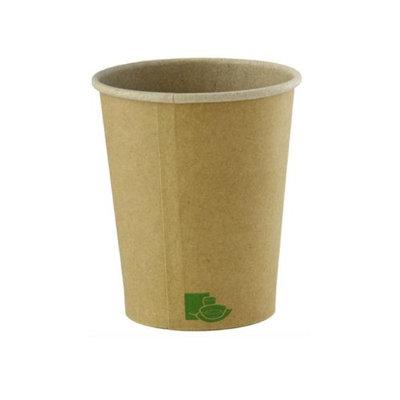 Packnwood 210GCZEN8 8 oz Zen Kraft Recyclable Paper Cups 3.15 x 3.6 in.