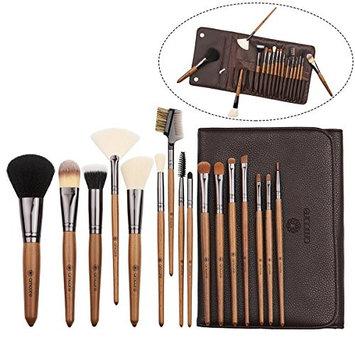 amoore Makeup Brushes Makeup Brush set Makeup Brush with Case Foundation Brush Powder Brush