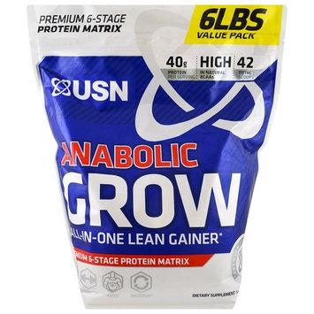 USN, Anabolic Grow, Chocolate, 6 lbs (2.73 kg) [Flavor : Chocolate]