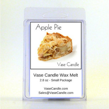 2 Apple Pie Vase Candle Melts 2.8 oz Premium Highly Scented Soy Paraffin Wax Tarts 50 Hours (Pack of 2)