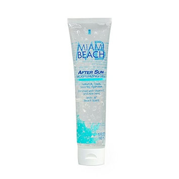 Miami Beach AFTER SUN MOISTURIZING GEL, 5OZ