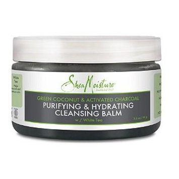 SheaMoisture Green Coconut Activated Charcoal Cleansing Balm 3.5oz, pack of 1
