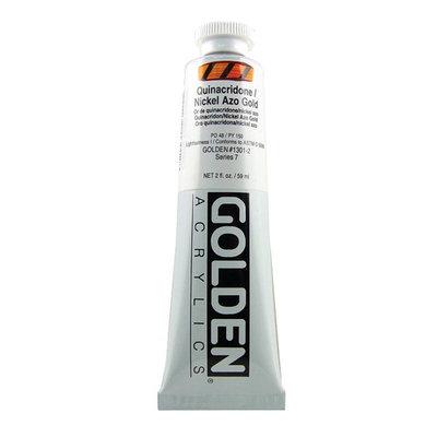 Golden Artist Colors 2 Oz Heavy Body Acrylic Color Paints