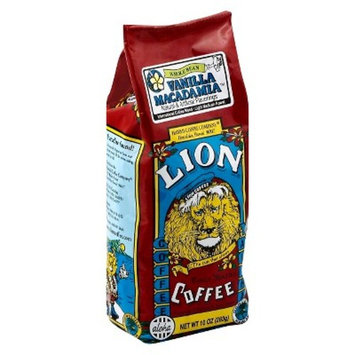 Lion Coffee, Vanilla Macadamia, Whole Bean, 10 Ounce (283g)