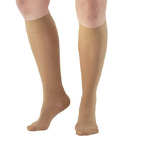 Ames Walker Unisex AW Style 380 Signature Sheers Closed Toe Compression Knee High Stockings - 30-40 mmHg Nylon/Spandex 380-P