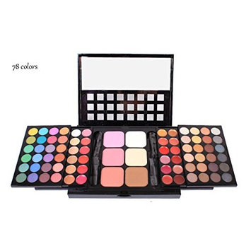 J-Beauty Makeup Eyeshadow Lip Gloss 78 Colors Collection Sets