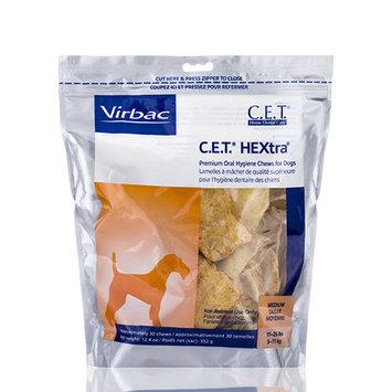 CET Hextra Chews, Medium, 30 Count