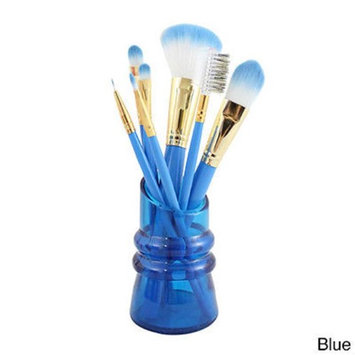 Jacki Design International Jacki Design Summer Bliss 7-piece Makeup Brush Set and Holder