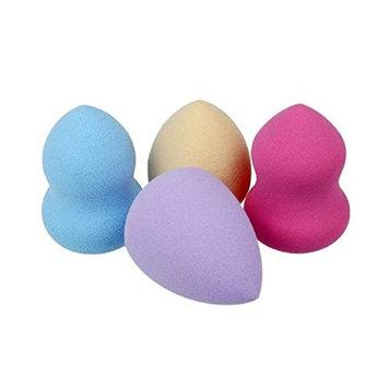 Sponges Puff, VIASA 4pcs Beauty Foundation Puff Multi Shape Sponges ( 3pcs Gourd shape+1 pcs Water droplets shape)