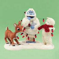 Snowbabies Department 56 Snowbabies Guest Collection Lighting Up Bumble Figurine, 4.33-Inch