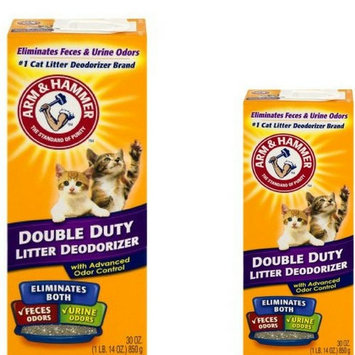 Arm & Hammer Double Duty Litter Deodorizer with Advanced Odor Control 30oz (2)