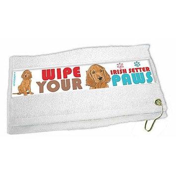 Irish Setter Paw Wipe Towel
