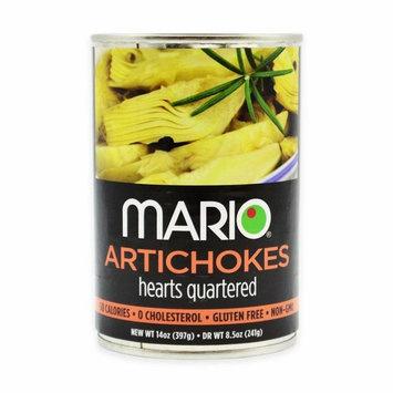 Mario Camacho Foods Artichokes Hearts, Quartered, 8.5 Ounce [Quartered]