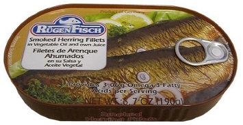 Rugen Fisch Smoked Herring Fillets (RugenFisch) 6.7 oz (190g)