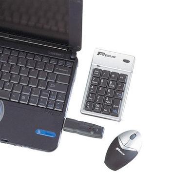 Asus Targus PAKP003U Wireless Keypad and Mouse - Keypad - Wireless - 17 - Mouse