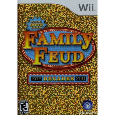 Ubisoft Family Feud: Decades (used)