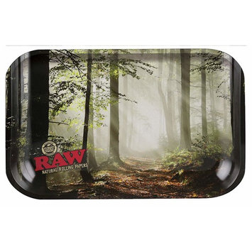 Raw Rolling Tray - Forest Design -Mini/ 7