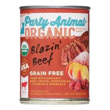 Party Animal Can Dog Blazin Beef 13 oz