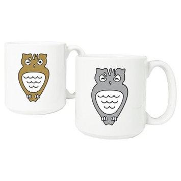 Halloween Owl Mugs - 2ct