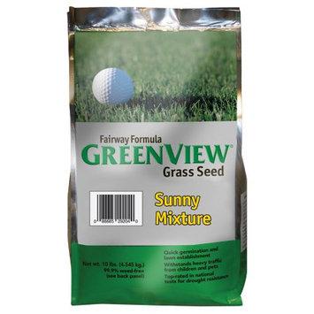 Lebanon Seaboard Corporation GreenView Fairway Formula Sunny Grass Seed Mixture, bag 10 lb