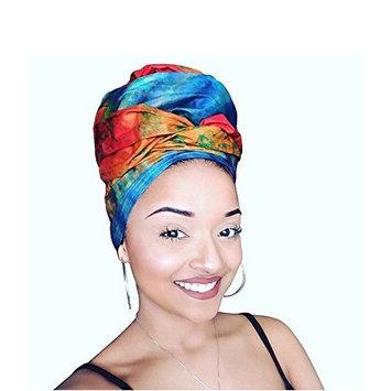 Tie died Royalty African Headwrap