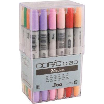 Copic IB24 Ciao 24-Marker Set Basic