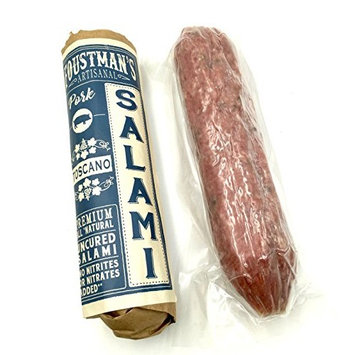 Foustman's Salami Variety Pork Flavors (6 Pack) Artisan, Nitrate-Free, Naturally Cured
