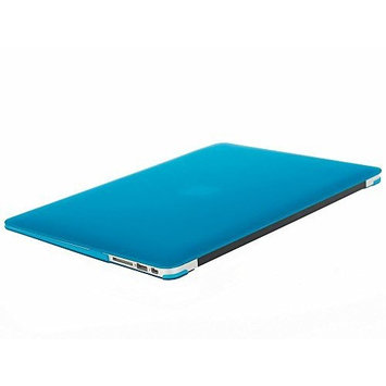 MOSISO Hard Case for MacBook Air 13 inch Model A1369/A1466, Ultra Slim Plastic Protective Snap On Shell Cover, Aqua Blue