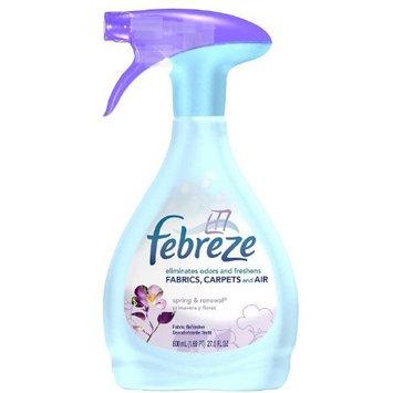 Febreze Fabric Refresher-Spring & Renewal-27 oz (Quantity of 4)